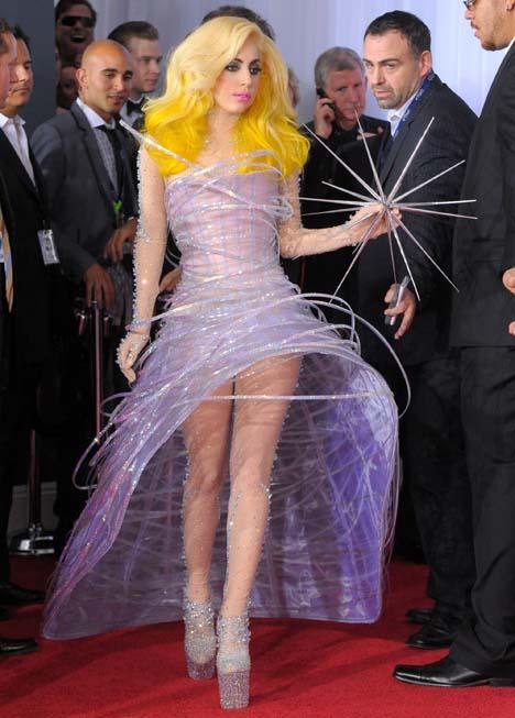 Lady Gaga Sizzles in Giorgio Armani Privé