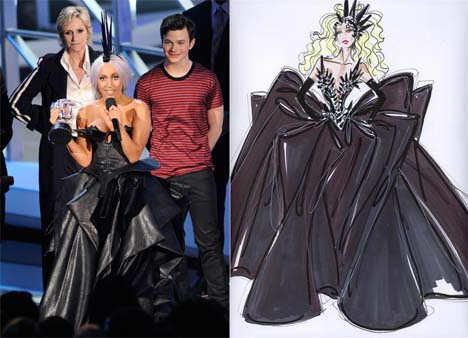 lady gaga outfits vma. Lady Gaga#39;s VMA Outfit