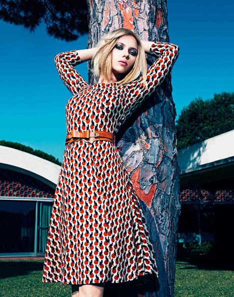 Scarlett Johansson For Mango Spring/Summer 2011