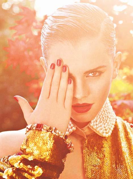 Emma Watson By Mariano Vivanco For I-D Magazine