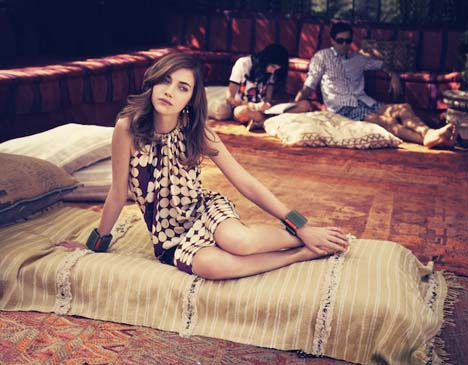 Sofia Coppola Directs The Ad by Marni for H & M Spring 2012