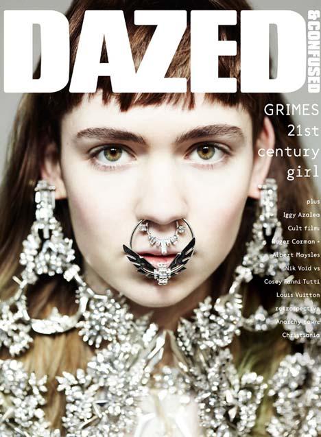 Grimes Covers Dazed & Confused April 2012